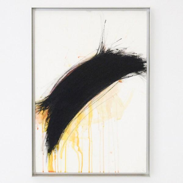 Arnulf Rainer - Zonder Titel - 73x50cm Oliepastel, gouache en olieverf op papier op paneel