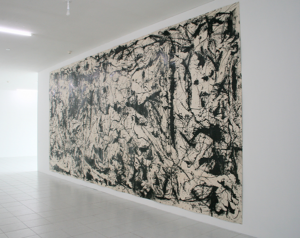 Art & Language - Picasso's Guernica in the Style of Jackson Pollock - 791x357cm Olieverf op papier op canvas op hardboard
