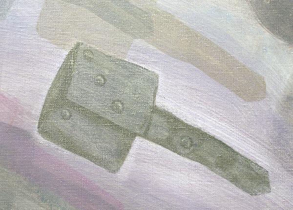 Aukje Koks - Dubieuze Dingen - 200x300cm Olieverf op linnen (detail)