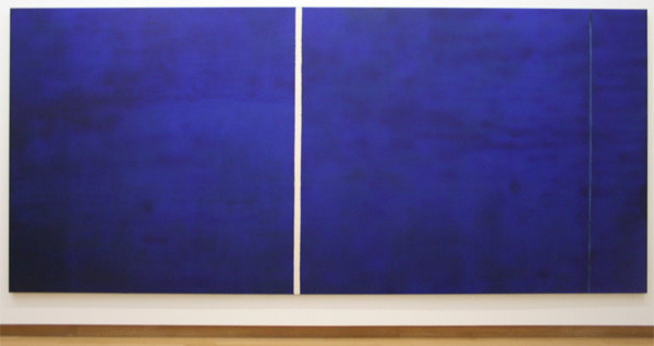 Barnett Newman - Cathedra - Olieverf en acrylverf op katoen
