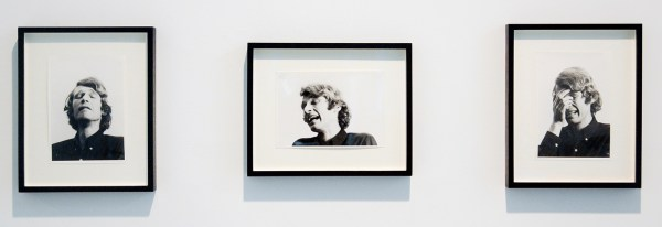 Bas Jan Ader - Study for 'I'm Too Sad To Tell You' - 3maal 18x13cm Zilvergelatineprints, 1971