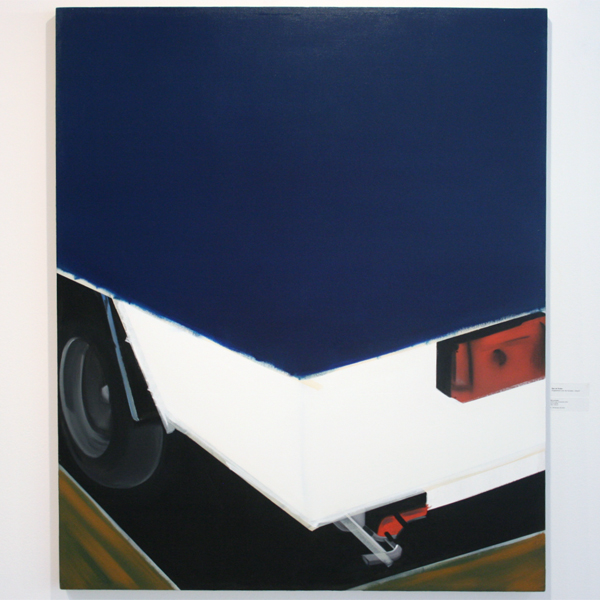 Bas de Ruiter - There's tape involved #4 - Olieverf op canvas