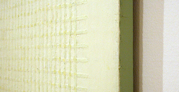 Ben Akkerman - Zonder Titel - Acrylverf op paneel (detail)