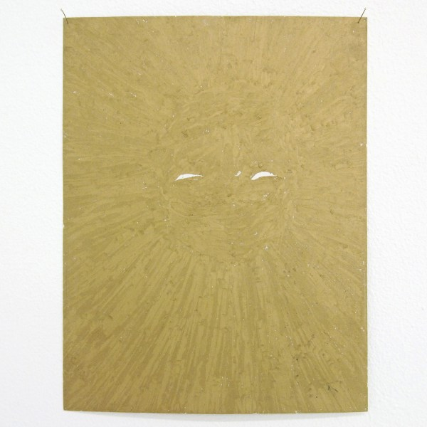 Bernice Nauta - Thank You Sun - 27x21cm Oliepastel op papier