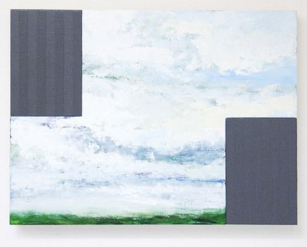 Bert Loerakker - Untitled - 60x80cm Olieverf en alkydverf op linnen op paneel