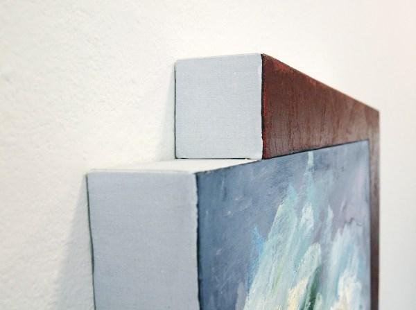 Bert Loerakker - Zonder Titel - 70x55cm Olieverf en alkydverf op linnen op paneel (detail)
