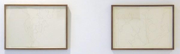 Bettie van Haaster - Citroenboom, Spanje & Beatrixpark - 29x41cm Potlood op papier