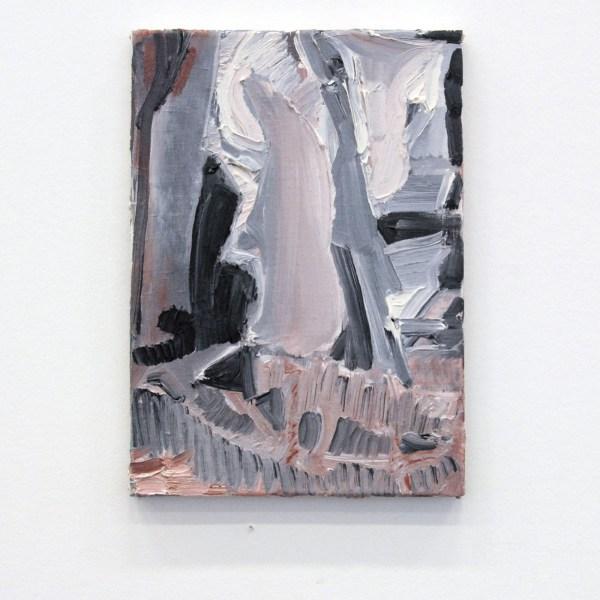 Bettie van Haaster - Zeilen - 35x25cm Olieverf op canvas 2011