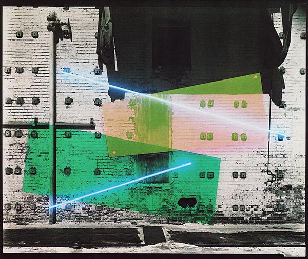 Bill Kane - Sansooh - Foto, neon en plexiglas (1980)