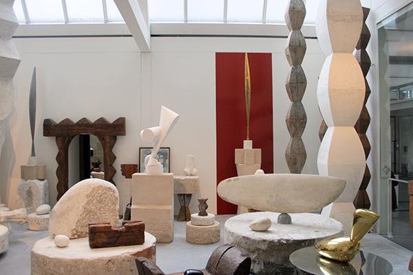 Brancusi - Studio in 2013 (Pompidou)