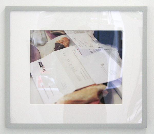 Calla Henkel & Mac Pitegoff - Yael, Berlin, Spring 2013 - 36x45cm Digitale print