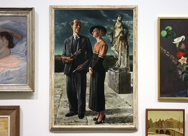 Carel Willink - De Schilder met zijn vrouw - Olieverf op doek