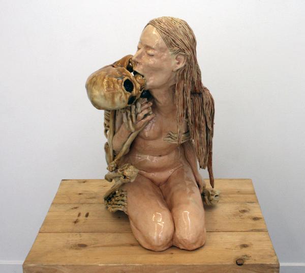 Carolein Smit - Dood en het Meisje - Keramiek