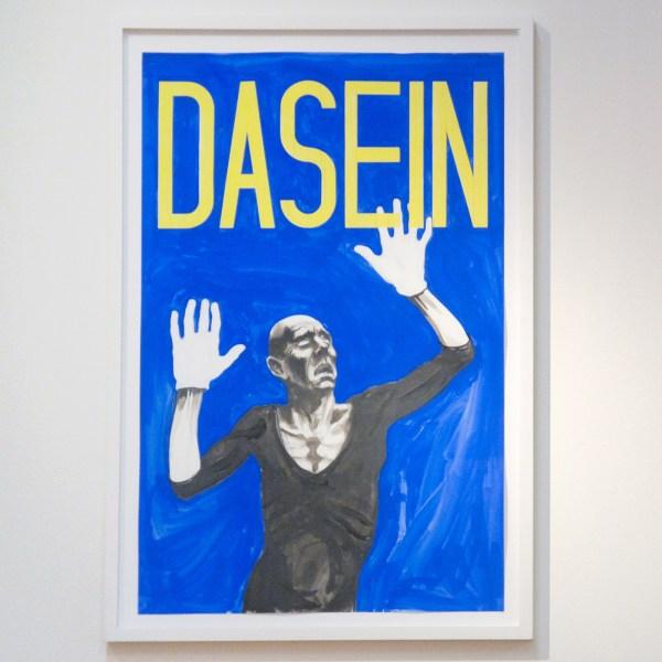 Charles Avery - Untitled (Dasein) - Potlood en gouache op papier