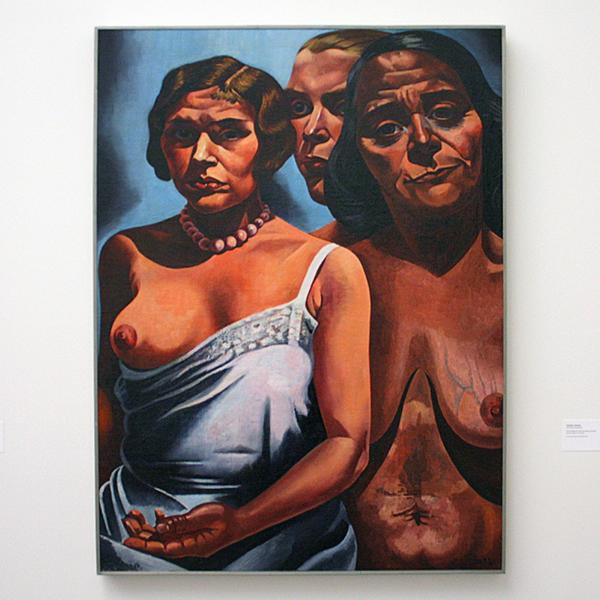 Charley Toorop - Vrouwenfiguren - Olieverf op doek