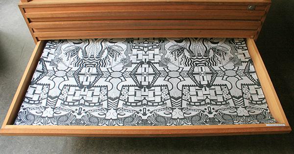 Christie van der Haak - Onbekende titel - 100x140cm Textiel