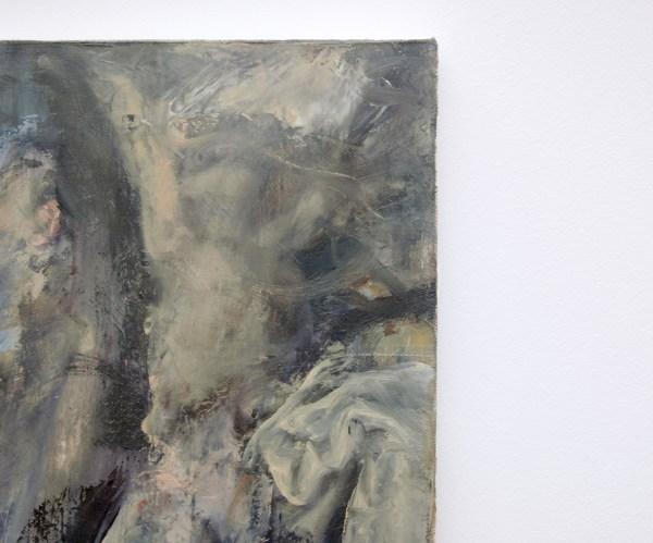 Corneliu Brudascu - Composition II (Ritual)- 40x46cm Olieverf op canvas (detail)
