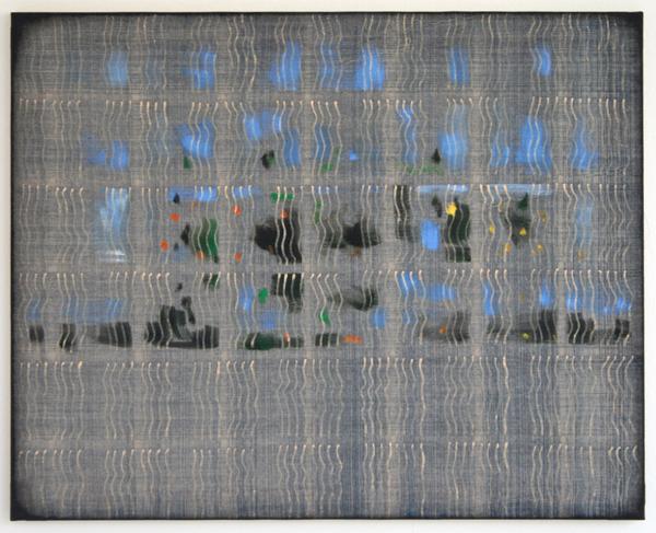 Cornelius Quabeck - Goat Garden - 81x65cm Acrylverf op canvas