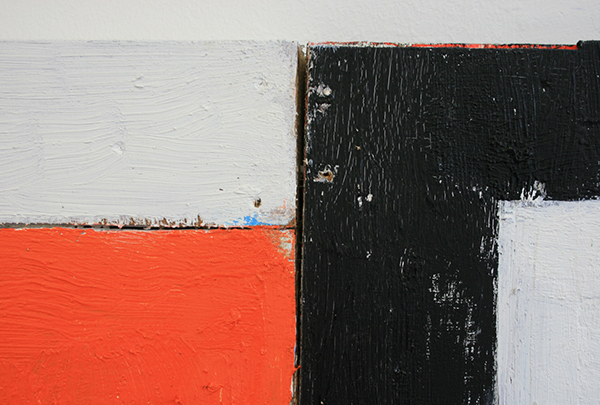Dave Meijer - Zonder Titel - 102x72cm Olieverf op paneel (detail)