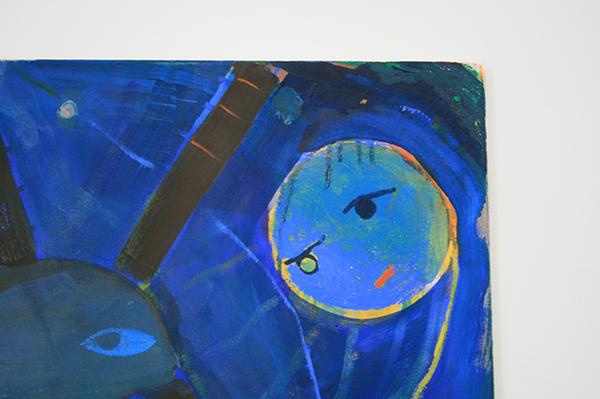 Derk Thijs - It Still Moves - 120x150cm Olieverf op katoen (detail)