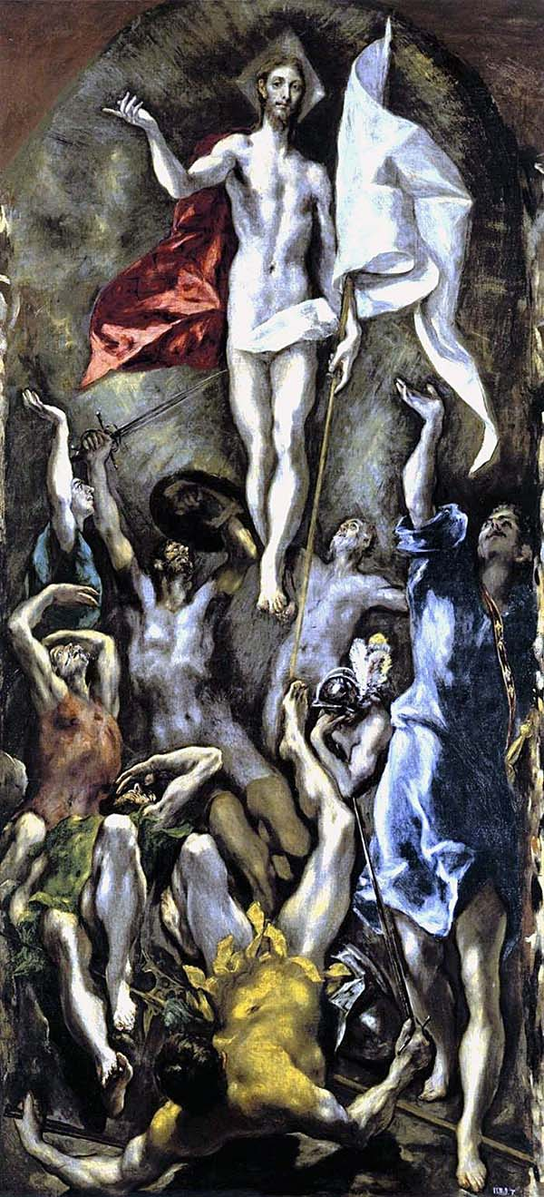 El Greco - The Resurrection of Christ