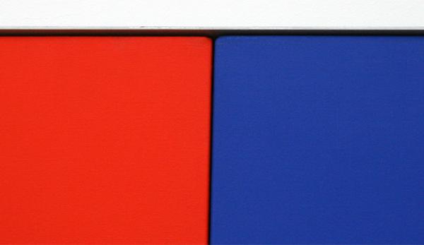 Ellsworth Kelly - Serie van vijf schilderijen - Olieverf op doek (detail)