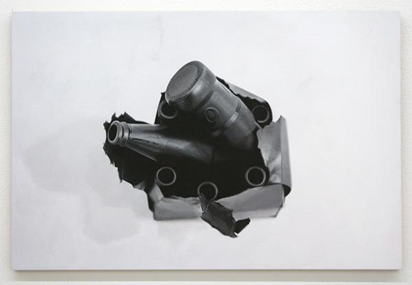Elodie Lesourd - Peste Noire (Courtesy PN Ledoux P Bolouin) - 31x46cm Acrylverf op MDF
