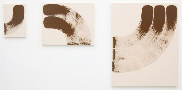 Elvire Bonduelle - Rotating Painting nr 23 - 81x65cm en kleiner, Verf op canvas