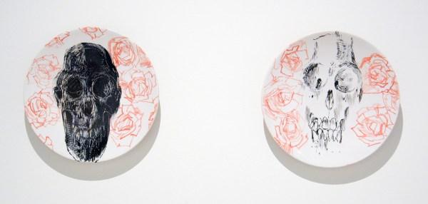 Erik Andriesse - Borden - Geglazuurd steengoed, 1992