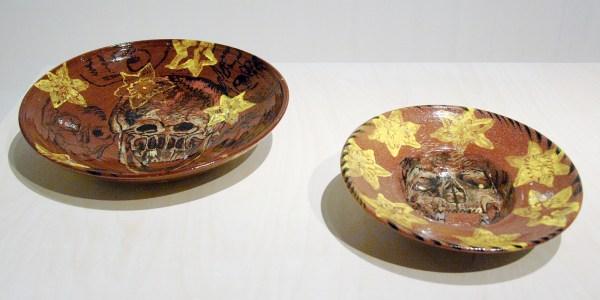 Erik Andriesse - Schalen - Geglazuurd steengoed, 1993