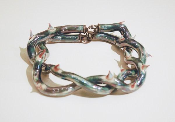 Evert Nijland - Doornen - Zilver glas en linnen