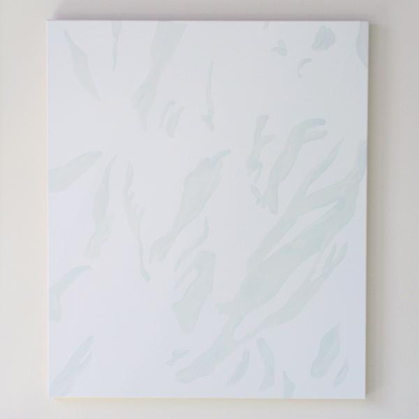 Evi Vingerling - Zonder Titel - Gouache en acrylverf op doek