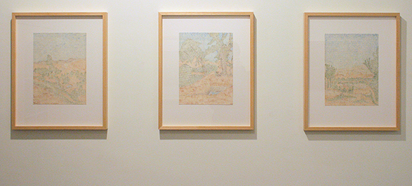 Fatima Barznge - My Lost Paradise; Zaitoonak & Zaitoonaka & Qasisaka - 32x23cm Acryl op papier