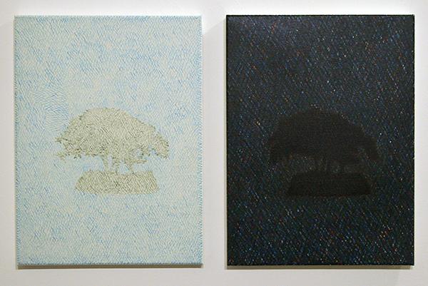 Fatima Barznge - Sheikh Harzani - 40x30cm Acryl op canvas