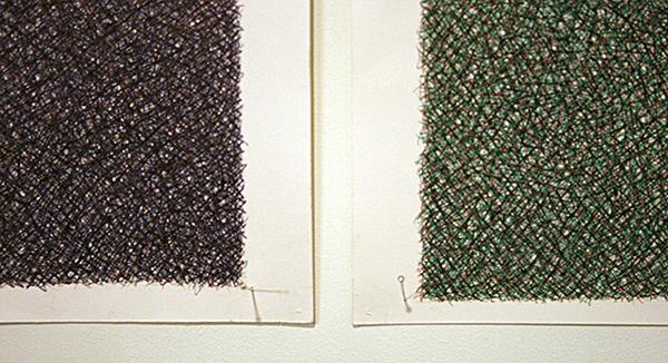 Fatima Barznge - Untitled- 40x30cm Inkt op papier (detail)