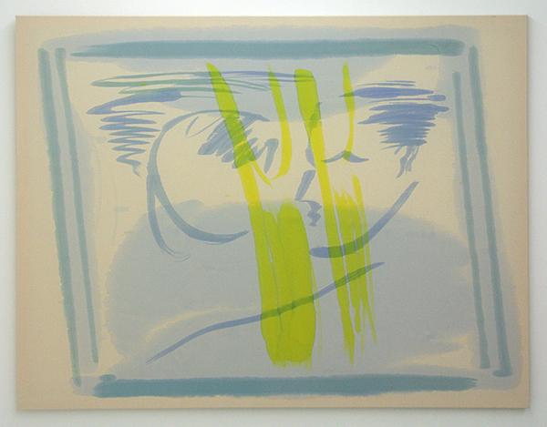 Fiona Mackay - Tourist (2) - 175x135cm Batik op canvas