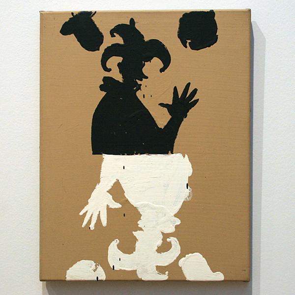 Fons Haagmans - Joker - Latex op doek 1988