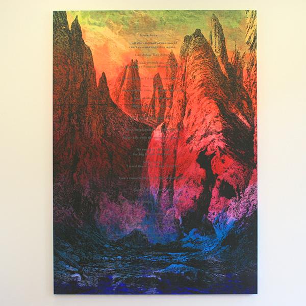 Friedrich Kunath - Return to Forever (Carlito) - 290x108cm Acrylverf op doek