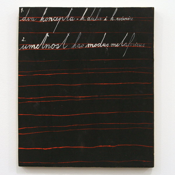 Galerie Frank Elbaz - Mangelos