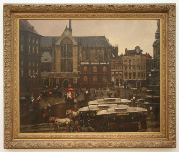 George Hendrik Breitner - De Dam - Olieverf op doek