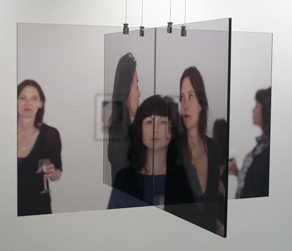 Ger van Elk - As is, as was - 91x91x60cm C-print op Duraclearfilm tussen plexiglas