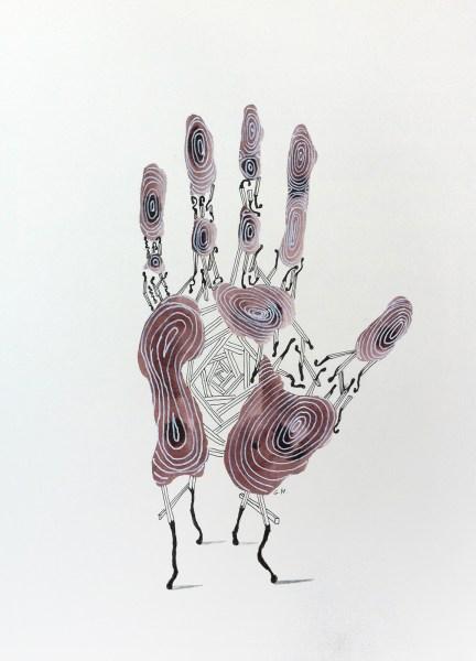 Gerben Hermanus - Finishing Touch - 30x42cm Inkt op papier, 2015