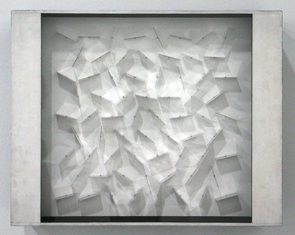 Gerhard von Graevenitz - Licht-Object - Hout, aluminium, motor en diverse materialen
