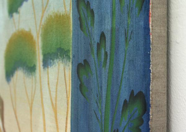 Gijs Frieling - Nelke's Balkontafel - 130x150cm Caseine en pigmenten op linnen (detail)