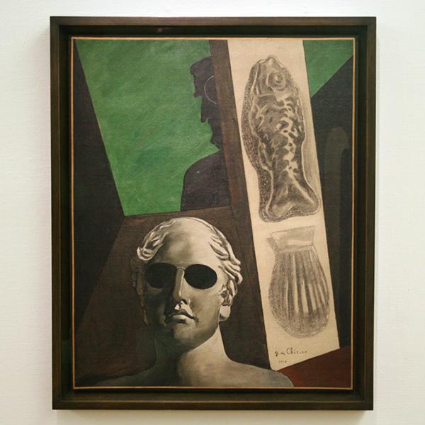 Giorgio de Chirico - Potreait Premonitoire de Guillaume Apollinaire