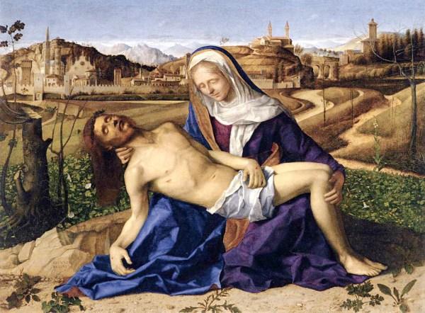 Giovanni Bellini - Pieta - Tempera op paneel, 1505