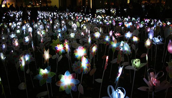 Glow for Kids - Een bloemzee van licht