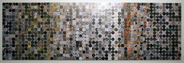 Greco de Ruijter - Contactsheet 01 (Source) - 100x300cm Ultrachrome op dibond