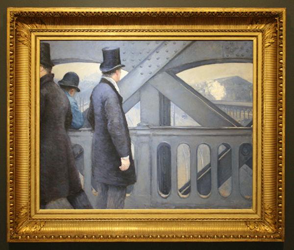 Gustave Caillebotte - Le Pont de l'Europe - Olieverf op doek 1877