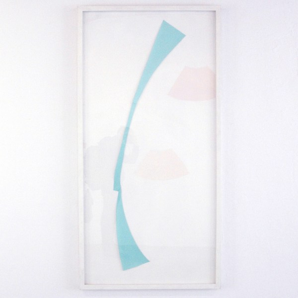Guy Mees - Verloren Ruimte - 190x92cm Collage